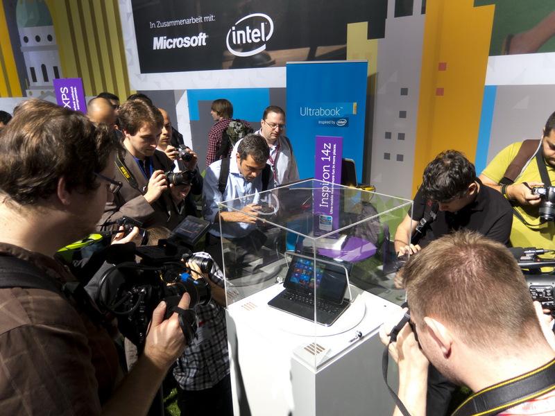 Технологический парк Dell на выставке IFA 2012