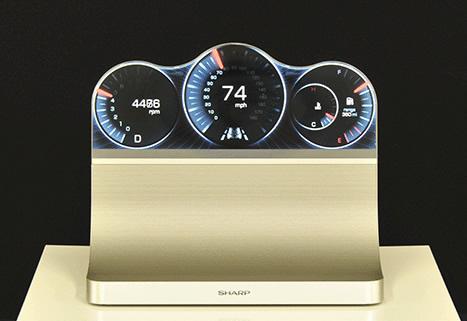 В дисплеях Sharp Free-Form Display используется технология IGZO