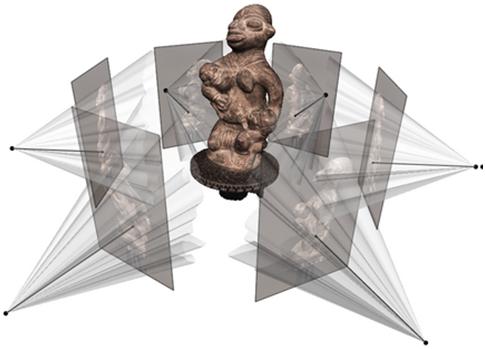 Технология построения 3D моделей объектов по набору изображений