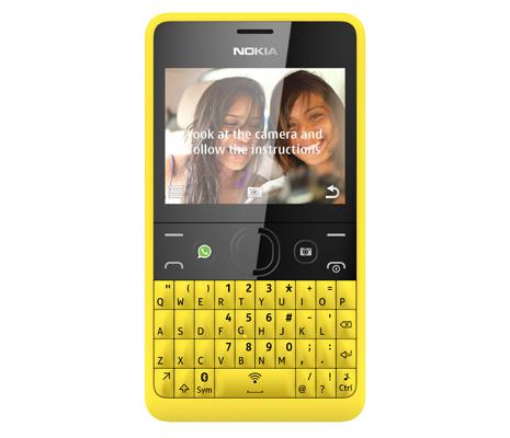 Nokia Asha 210 — первый в мире телефон с кнопкой WhatsApp