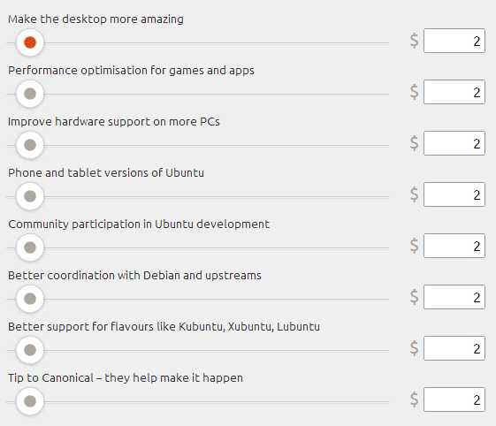 Теперь разработчиков Ubuntu можно поблагодарить финансово
