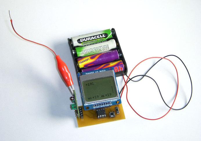 Термометр с беспроводной передачей данных