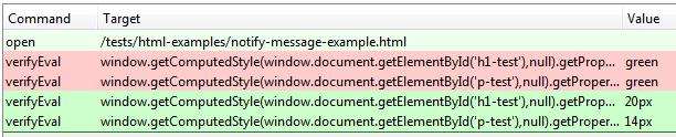 Тестируем CSS в Selenium IDE