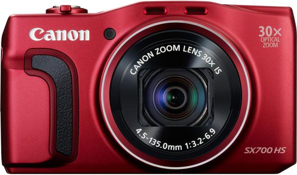 Черный и красный варианты камеры Canon PowerShot SX700 HS появятся в продаже в марте по цене $350