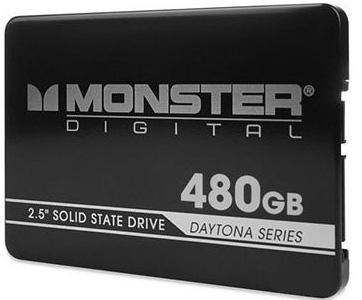 SSD Monster Digital Daytona — для тонких и ультратонких ноутбуков