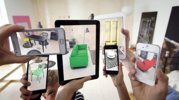 Товары из IKEA можно оценить в домашних условиях при помощи дополненной реальности