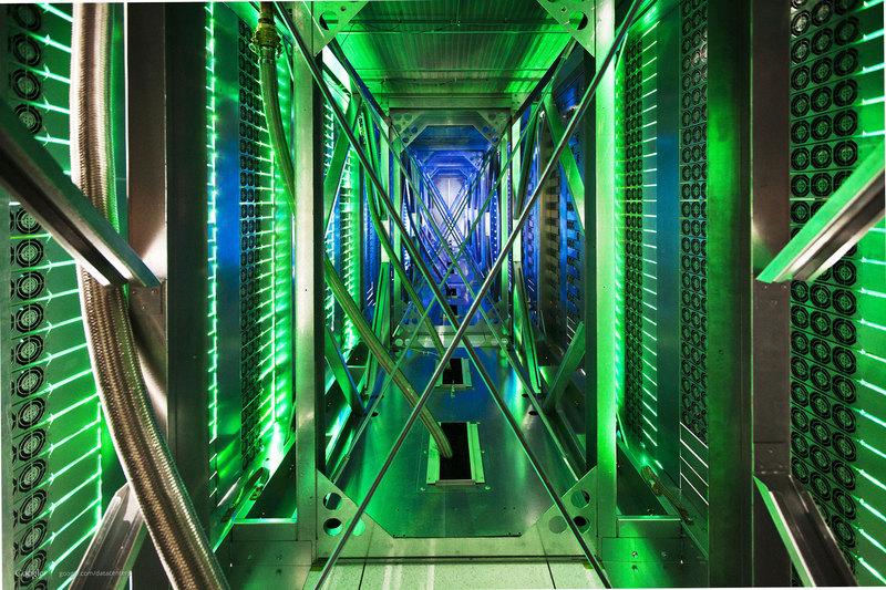 Тур по Дата Центрам Google или где «живет» Интернет?
