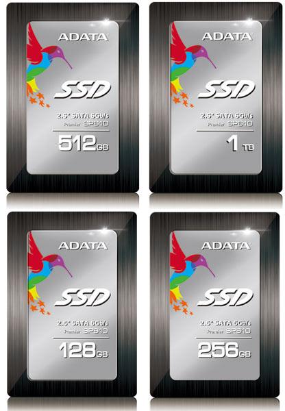 В накопителях Adata Premier SP610 типоразмера 2,5 дюйма с интерфейсом SATA 6 Гбит/с используются контроллеры SMI