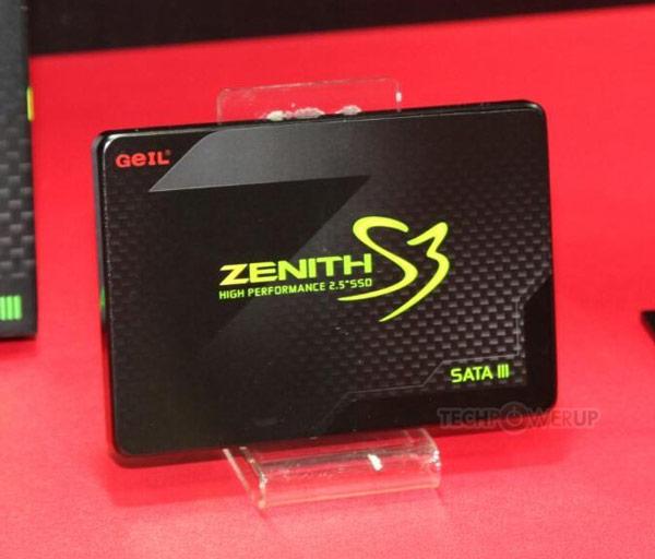 В накопителях GeIL Zenith используются контроллеры SandForce и флэш-память типа MLC NAND