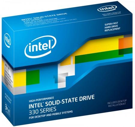 Твердотельные накопители Intel SSD 330 Series