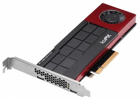 Твердотельный накопитель Fusion-io Fusion ioFX с интерфейсом PCI Express предназначен для рабочих станций