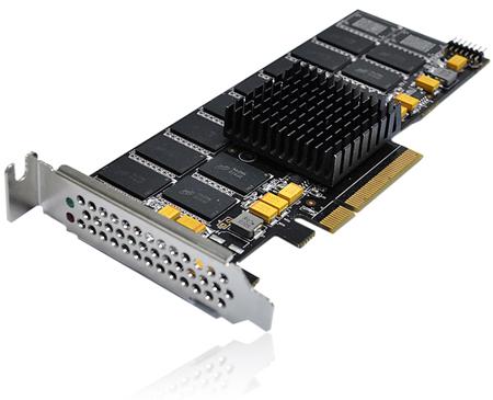 Твердотельный накопитель RunCore Kylin III выполнен в виде карты расширения PCI Express