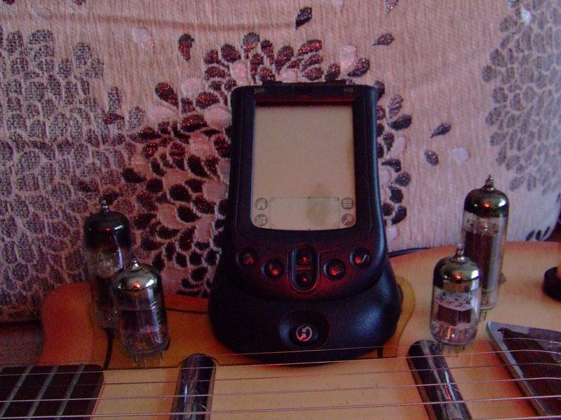 Тёплый ламповый КПК Palm m105