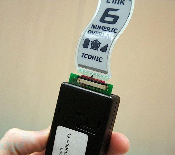 Сверхтонкие и гибкие электрофоретические дисплеи готовы для применения в электронных устройствах