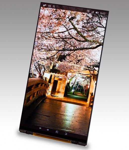 Новинка Japan Display характеризуется размером 5,4 дюйма и разрешением 2560 х 1440 пикселей