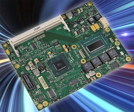 У MSC готовы первые модули COM Express на четырехъядерных процессорах Intel Core третьего поколения