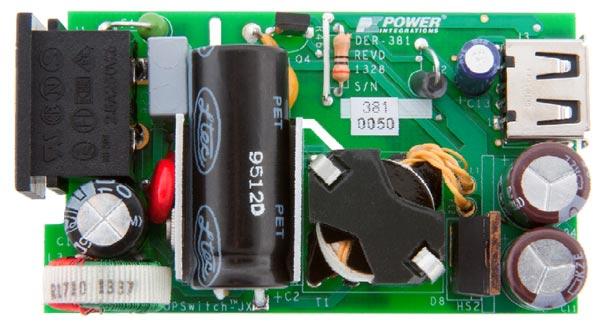 Референсный образец зарядного устройства DER-381 позволит конструкторам оценить работу микросхемы ChiPhy