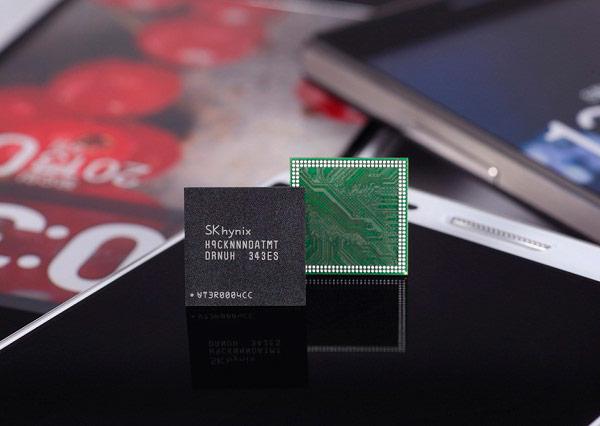Память SK Hynix LPDDR3 плотностью 6 Гбит предназначена для мобильных устройств верхнего сегмента
