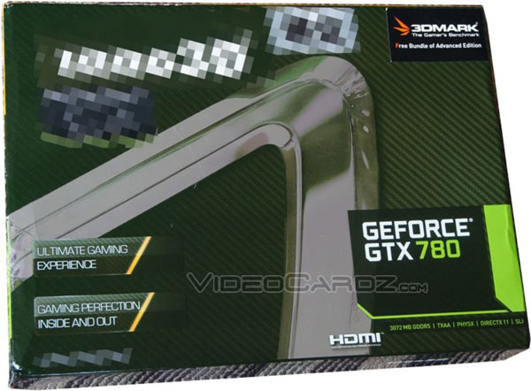 Опубликовано фото упаковки Inno3D GeForce GTX 780, уточнены спецификации