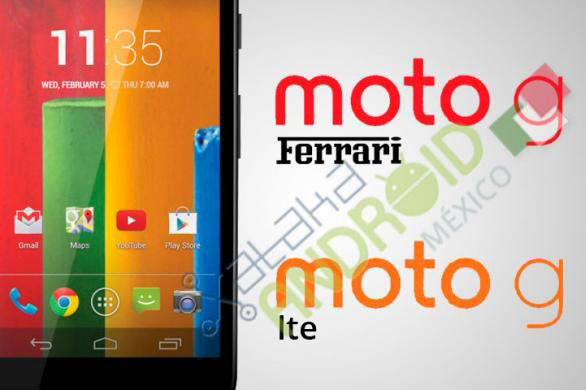 Moto G LTE и Moto G Ferrari — новые модификации бюджетного смартфона Moto G