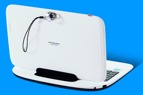 Intel Education 2 в 1 объединяет в себе преимущества планшета и ноутбука