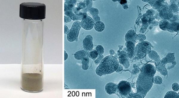 Пористые кремниевые наночастицы
