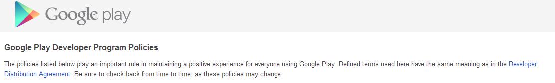 Ужесточение правил для разработчиков Google Play. Полный запрет push рекламы