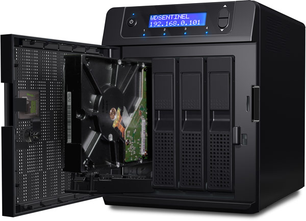 WD Sentinel DS5100 и DS6100 — сервера на платформе Intel