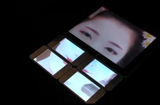 Универсальный интерфейс для синхронизации изображений/видео на разных устройствах