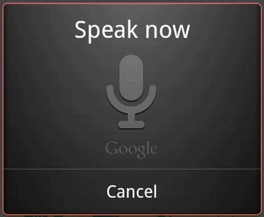 Управление голосом в приложениях на Android