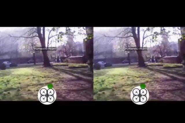 Управление квадрокоптером при помощи Oculus Rift