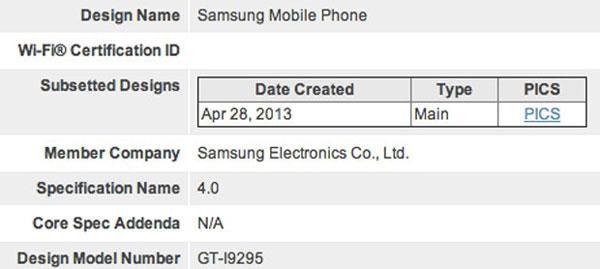 Какой рейтинг защиты от внешних воздействий получит Galaxy S4 Activ — пока неизвестно