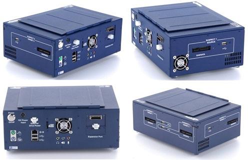 Устройства производства ICS, предназначенные для высокоскоростного дублирования накопителей, применяются для сбора улик