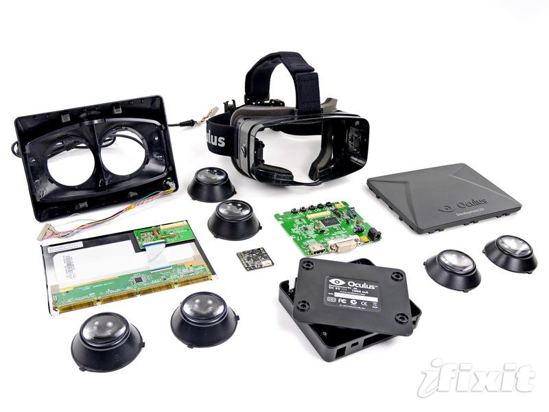Устройство очков виртуальной реальности Oculus Rift