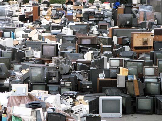 Утилизация ЭЛТ мониторов и телевизоров