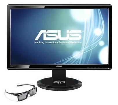 В 3D-мониторе ASUS VG23AH используется 23-дюймовая панель типа IPS