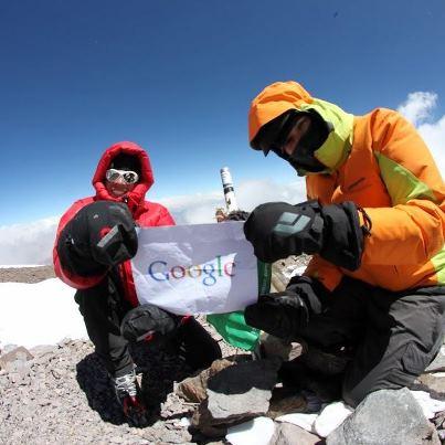В Google Street View появились панорамы с высочайших вершин мира