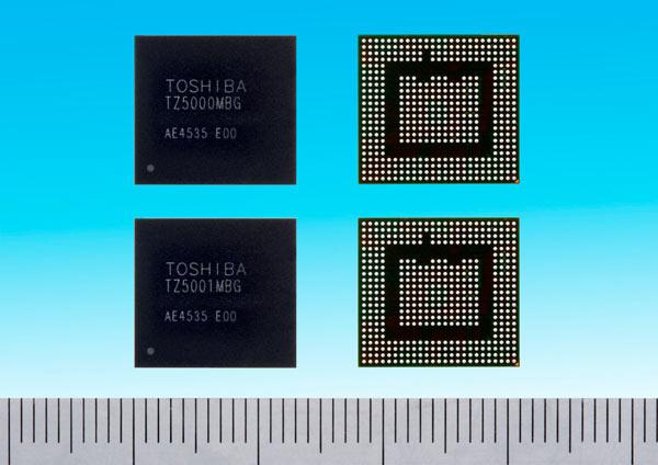 Производитель отмечает высокую степень интеграции Toshiba TZ5000