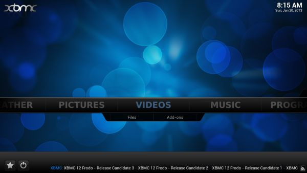 В экспериментальный билд XBMC Android добавлена поддержка аппаратного ускорения видео