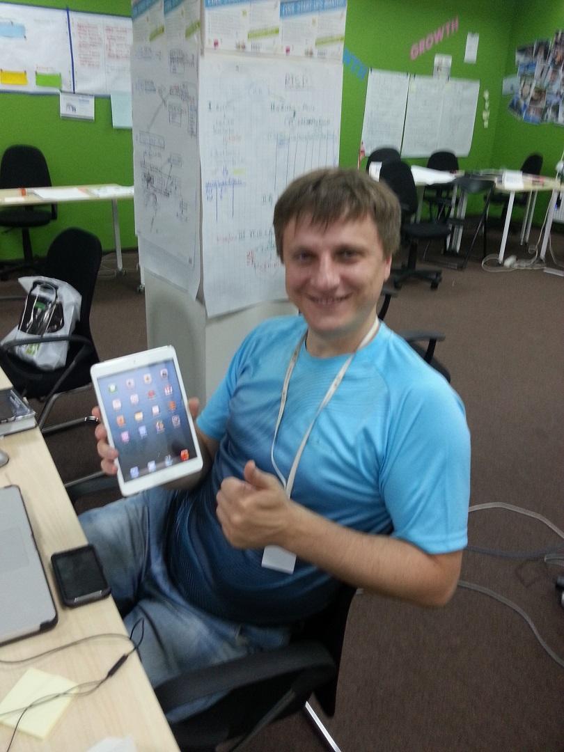 В инкубаторе, история одного стартапа