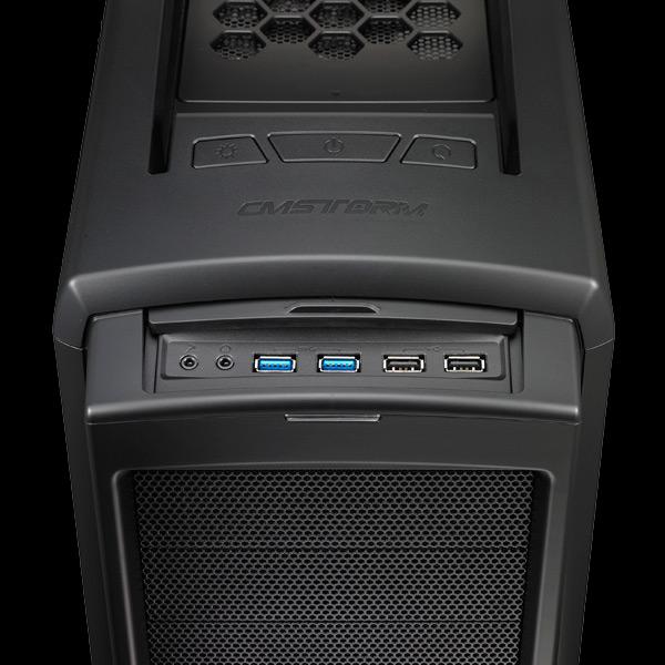 В корпусе CM Storm Scout 2 Advanced можно установить до девяти вентиляторов