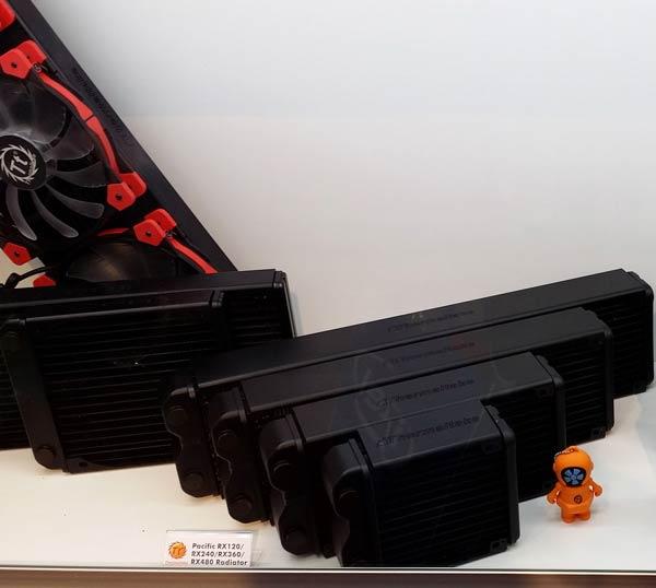 В линейку Thermaltake Water 3.0 вошли системы жидкостного охлаждения, а в линейку Pacific — компоненты для них