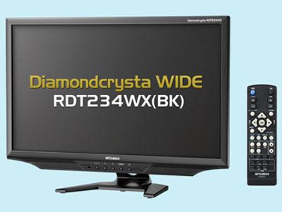 В мониторах Mitsubishi DiamonCrysta RDT234WX и RDT234WX-S используются панели типа IPS