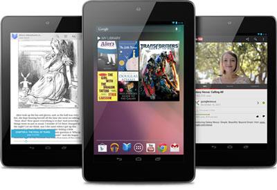 В октябре Google собирается выпустить планшет Nexus 7 с поддержкой 3G