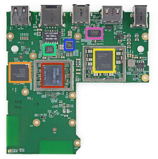 В приставке Amazon Fire TV обнаружен автономный электронный компонент, не подключенный к остальной части схемы