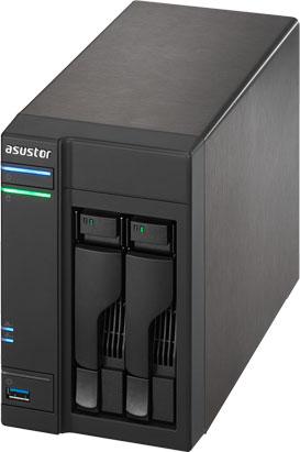 В серию NAS Asustor AS 6 вошли модели с двумя, четырьмя, шестью и восемью отсеками для накопителей
