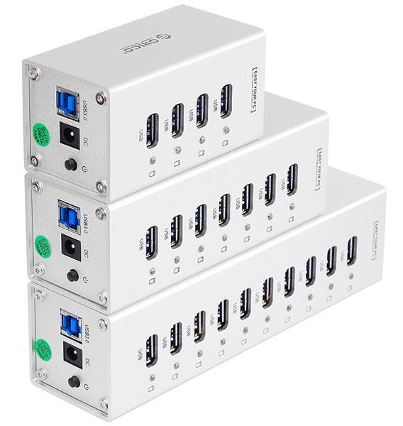 В серию Orico A3H вошел концентратор с 10 портами USB 3.0