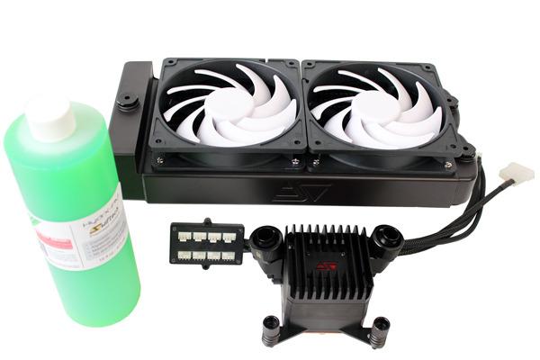 В серию Swiftech H2Ox20 Elite вошло две модели систем жидкостного охлаждения