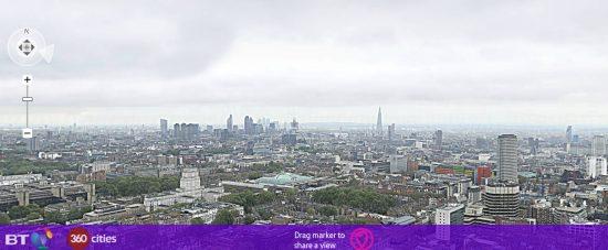 В Сеть выложили 320 гигапиксельную панораму Лондона