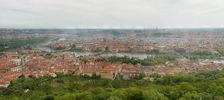 В Сеть выложили 34 гигапиксельную панораму Праги
